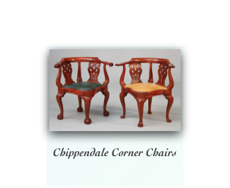 Reproduction Corner Chairs