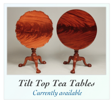 Tilt Top Tea Tables For Sale