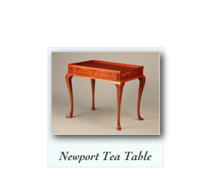 Newport Queen Anne Tea Table