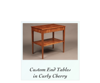 Custom Nightstands Handmade Bedsude Table Tiger Maple Curly Maple