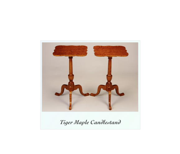 Curly Maple Occassional Tables