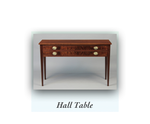 Handcrafted Demilune Desk