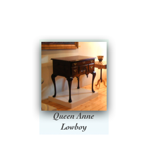 Handcrafted Reproduction Lowboy