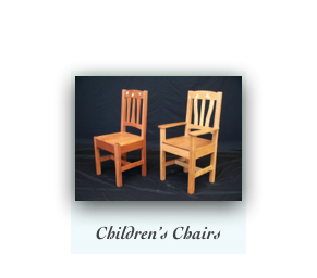 Handcrafted Childrens Chairs