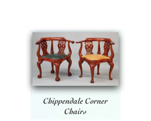 Newport Chippendale Corner Chairs