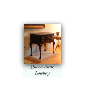 Queen Anne Lowboy Museum Quality Reproduction Furniture Colonial Furniture Maker