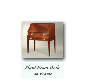 Fine Handmade Writing Desk  cherry tiger maple curly maple