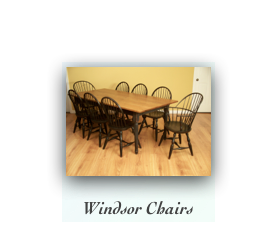 Handmade Windsor Chairs and Tables